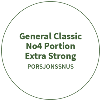 General Classic No4 Portion Extra Strong