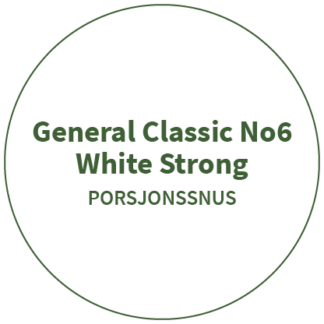 General Classic No6 White Strong