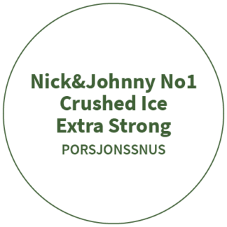 Nick&Johnny No1 Crushed Ice Extra Strong