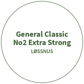 General Classic No2 Extra Strong Løssnus