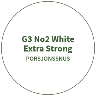 G3 No2 White Extra Strong