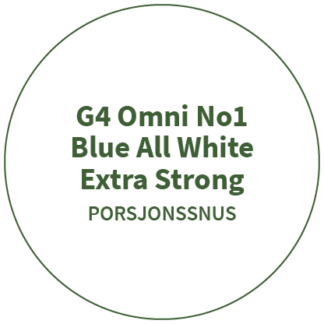 G4 Omni No1 Blue All White Extra Strong