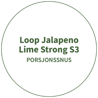 Loop Jalapeno Lime Strong S3